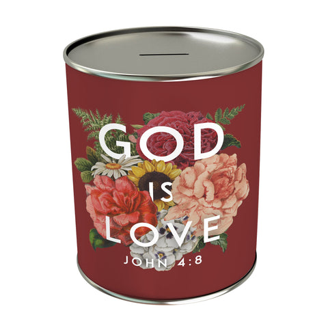 God Is Love Coin Bank