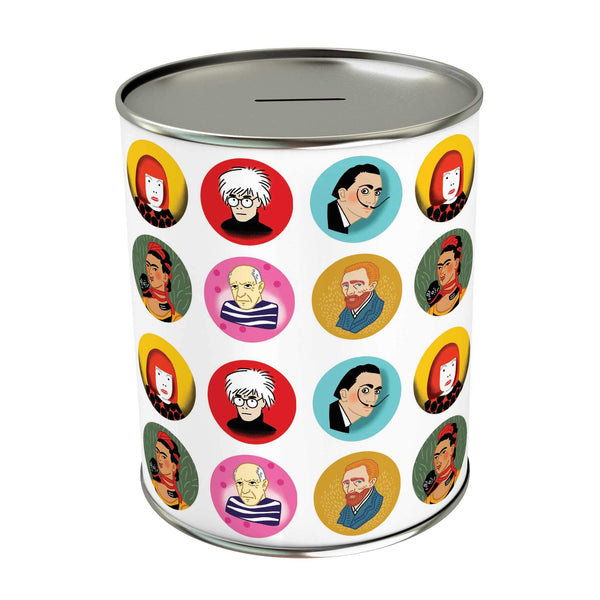 Iconic Artists Coin Bank