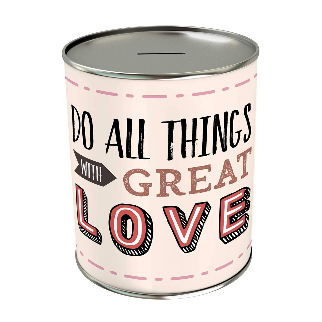 Words of Love Coin Bank: Do All Things