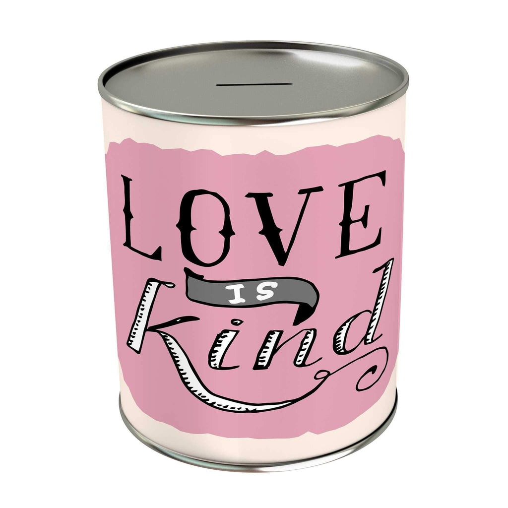 Words of Love Coin Bank: Love Is Kind