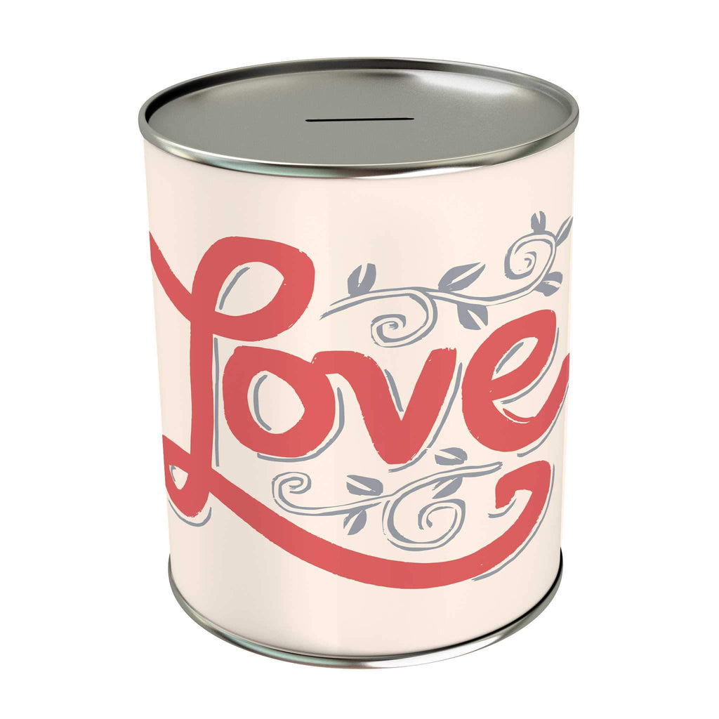 Words of Love Coin Bank: Love
