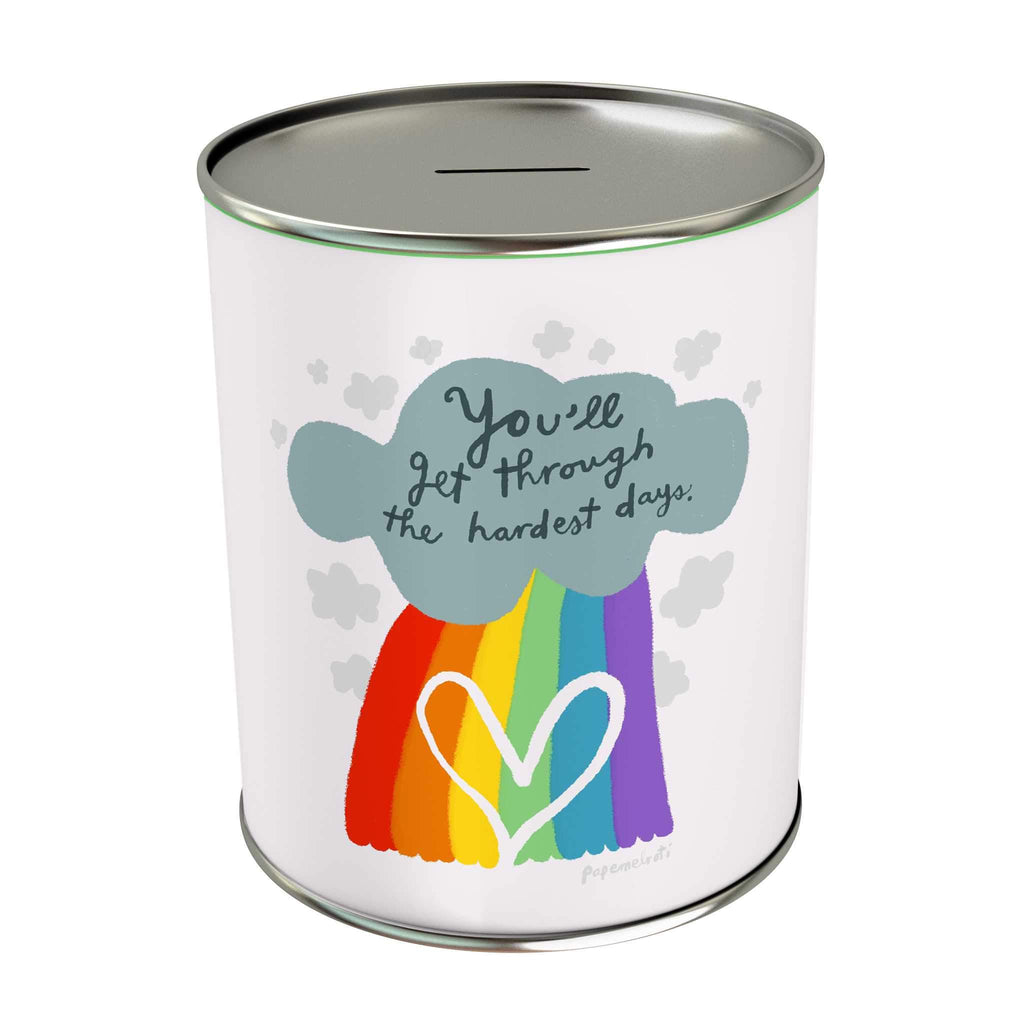Affirmation Coin Bank: You'll Get Through