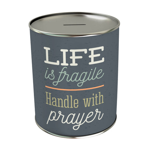 Life is Fragile Coin Bank