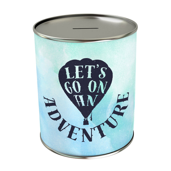 Let's Go on an Adventure Coin Bank