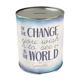 Be the Change You Wish Coin Bank
