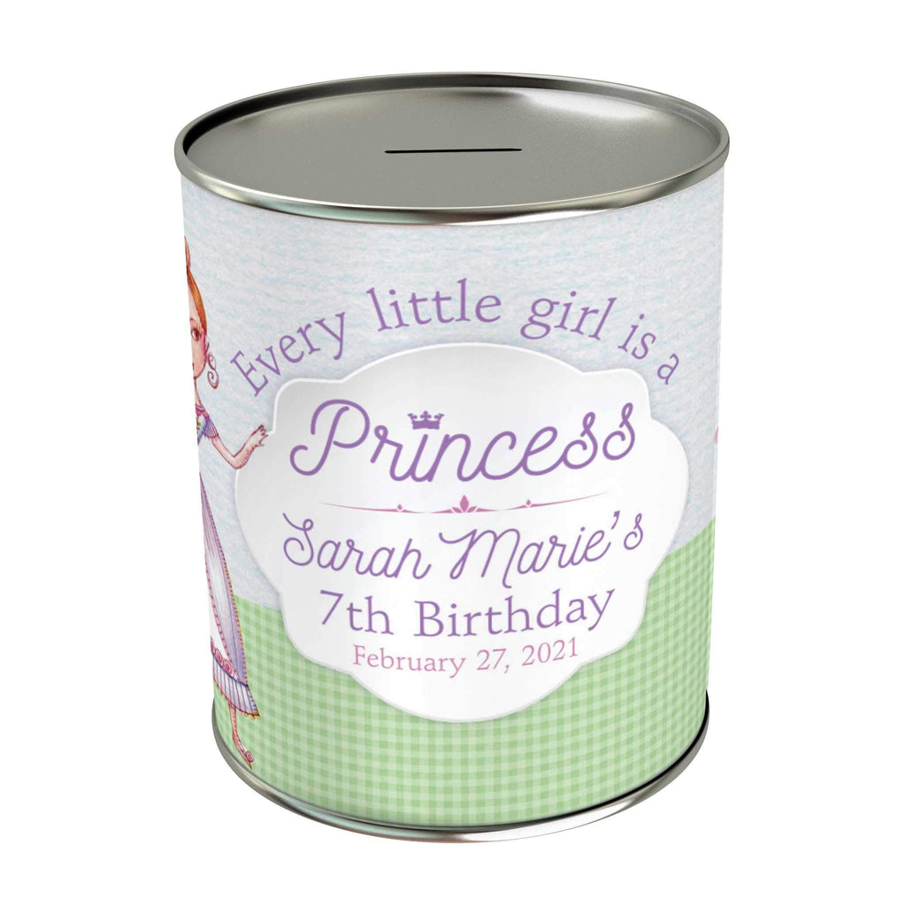 Princess Personalized Coin Bank