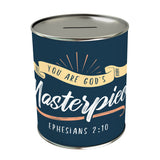 You Are God's Masterpiece Coin Bank