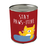 Activities: Stay Paws-itive Coin Bank