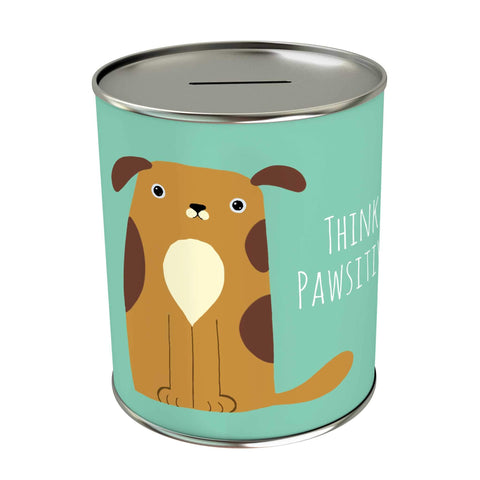 Pawsome: Think Pawsitive Coin Bank