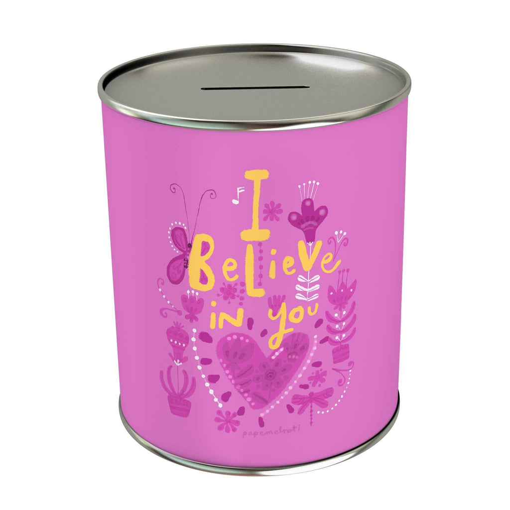 Affirmation Coin Bank: I Believe in You