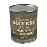 The Secret of Success Coin Bank