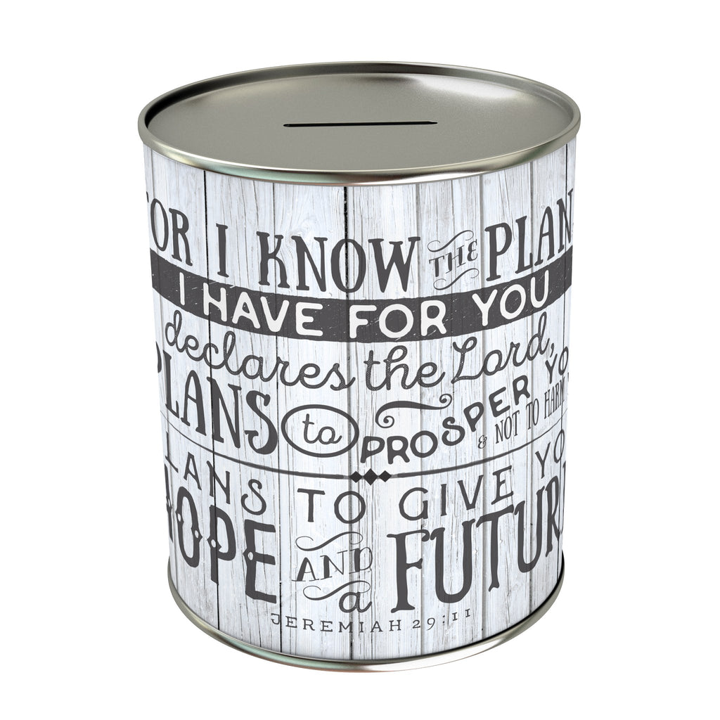 For I know the Plans Coin Bank