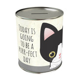 Today is Going to be Purr-fect Coin Bank