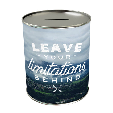Leave Your Limitation Coin Bank