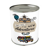 Say Yes To New Adventures Coin Bank: Jeepney