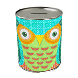 Owl Green Coin Bank
