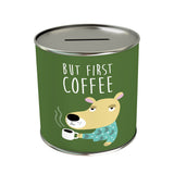 Activities: But First Coffee Coin Bank