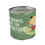Activities: Saturdays Are for Adventure Coin Bank