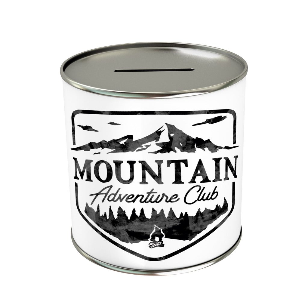 Mountain Adventure Club Coin Bank
