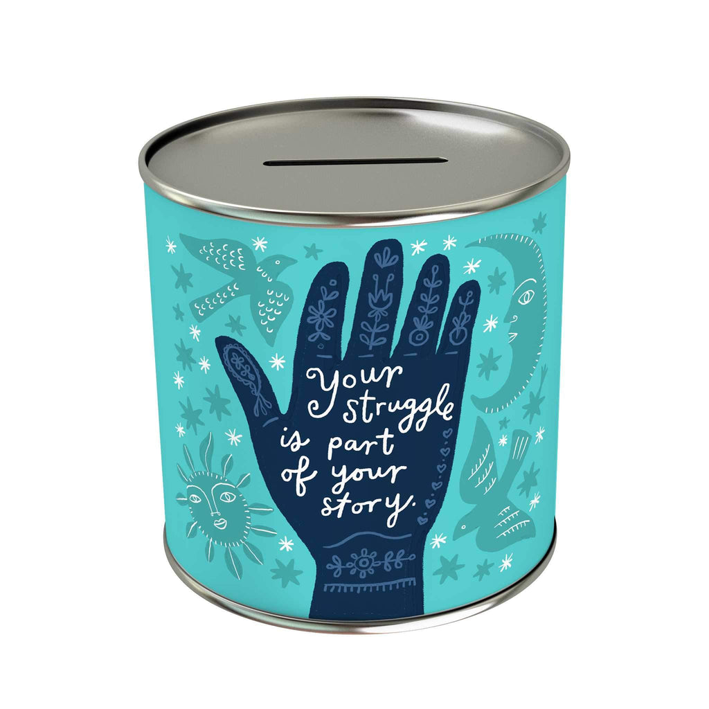 Affirmation Coin Bank: Part of Your Story