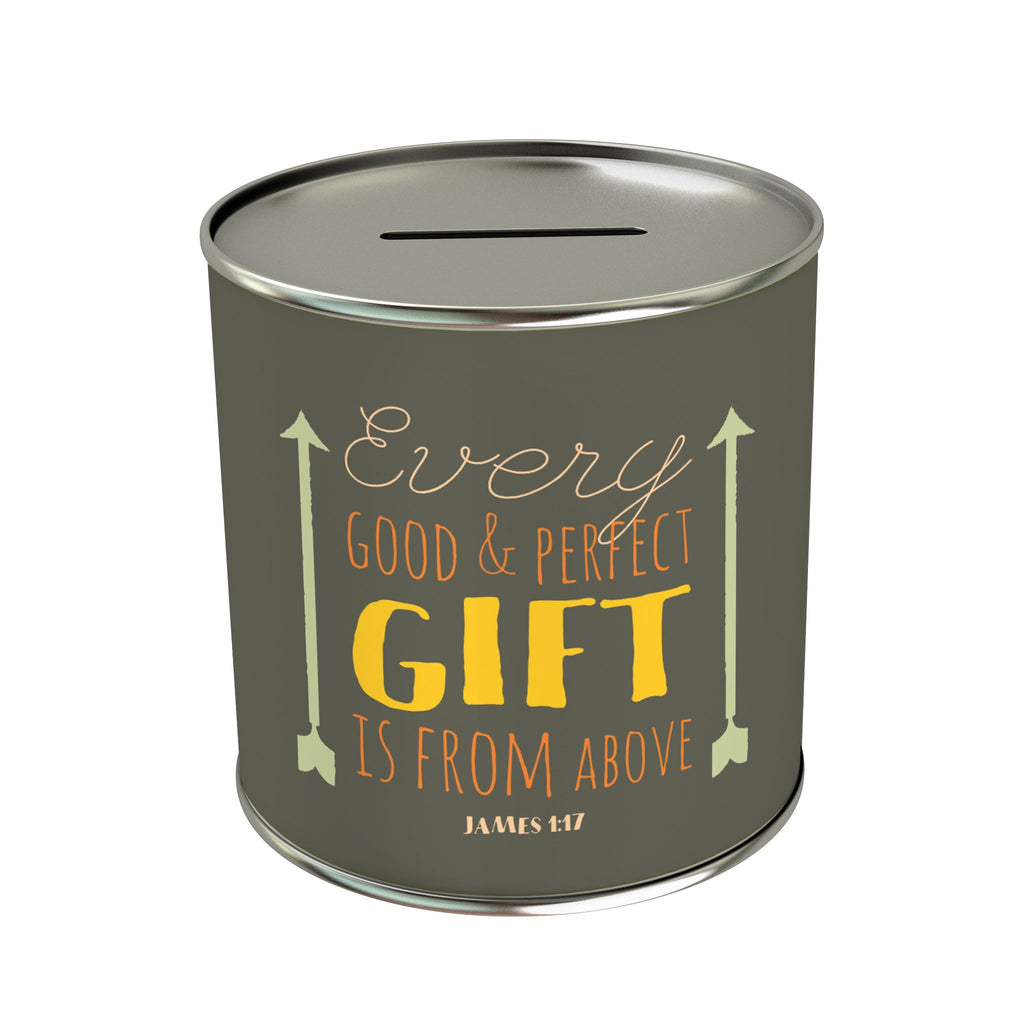 Every Good & Perfect Gift Coin Bank