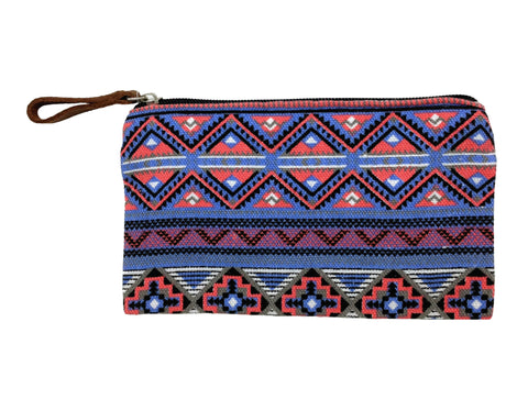 Tribal Pouch: Blue