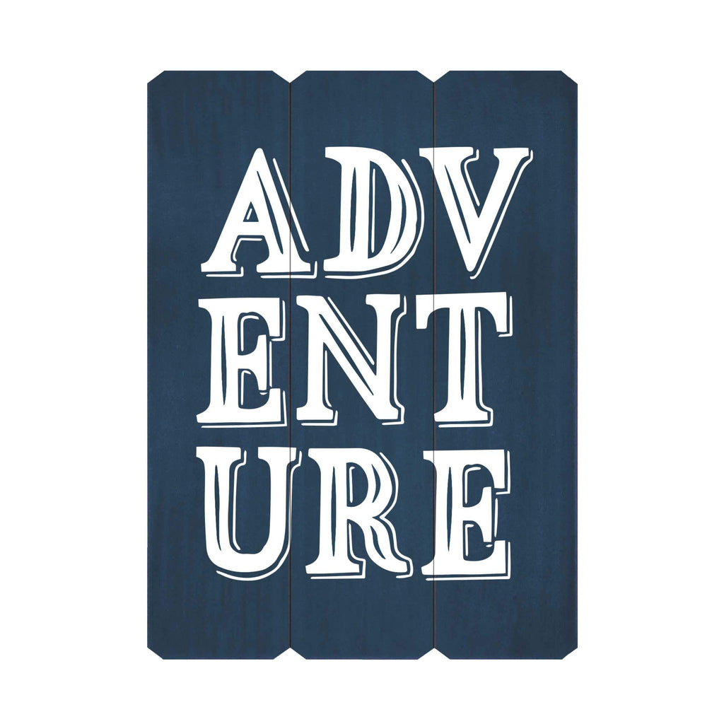 Adventure Fence Silkscreen Wall Art