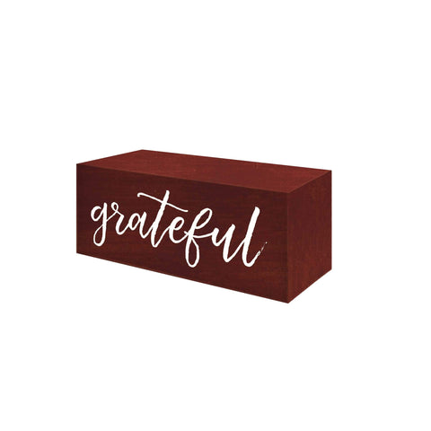 Grateful Word Block