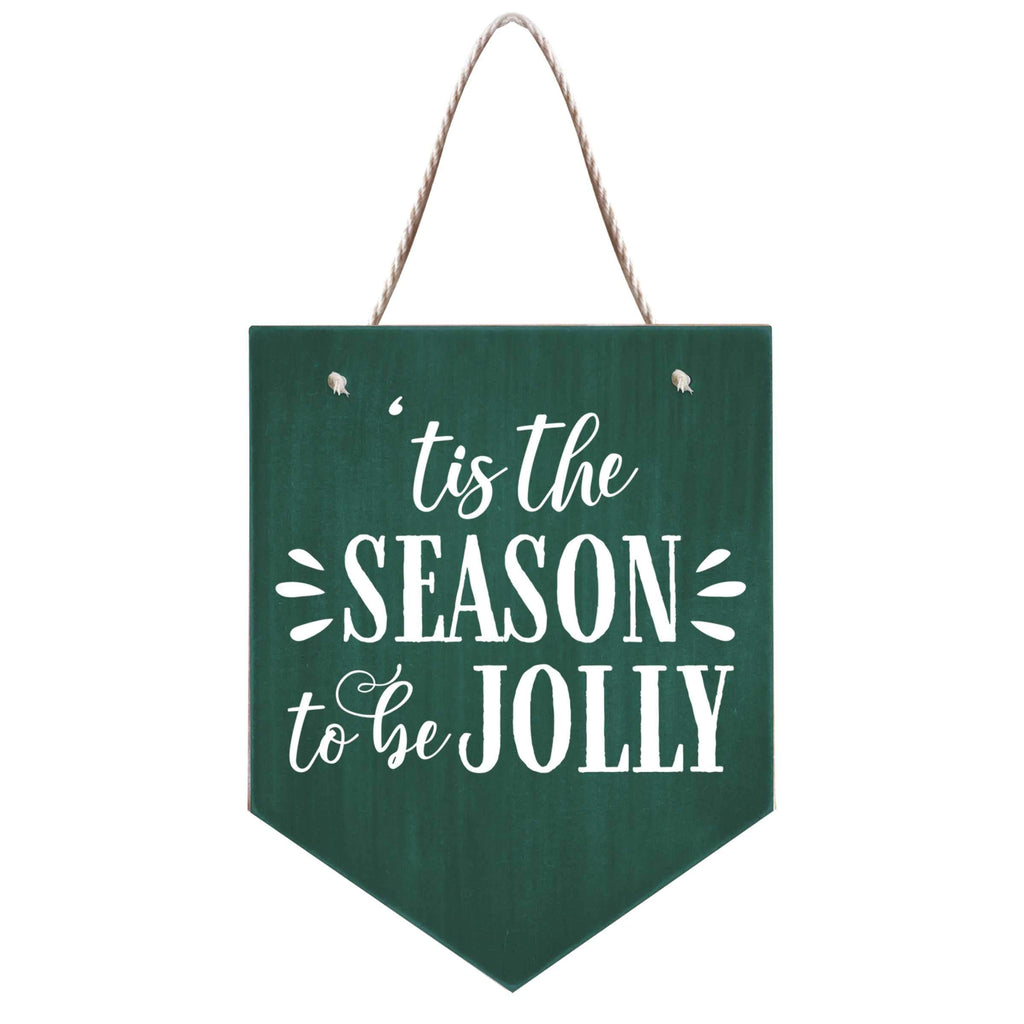 Season to Be Jolly Hanging Banner