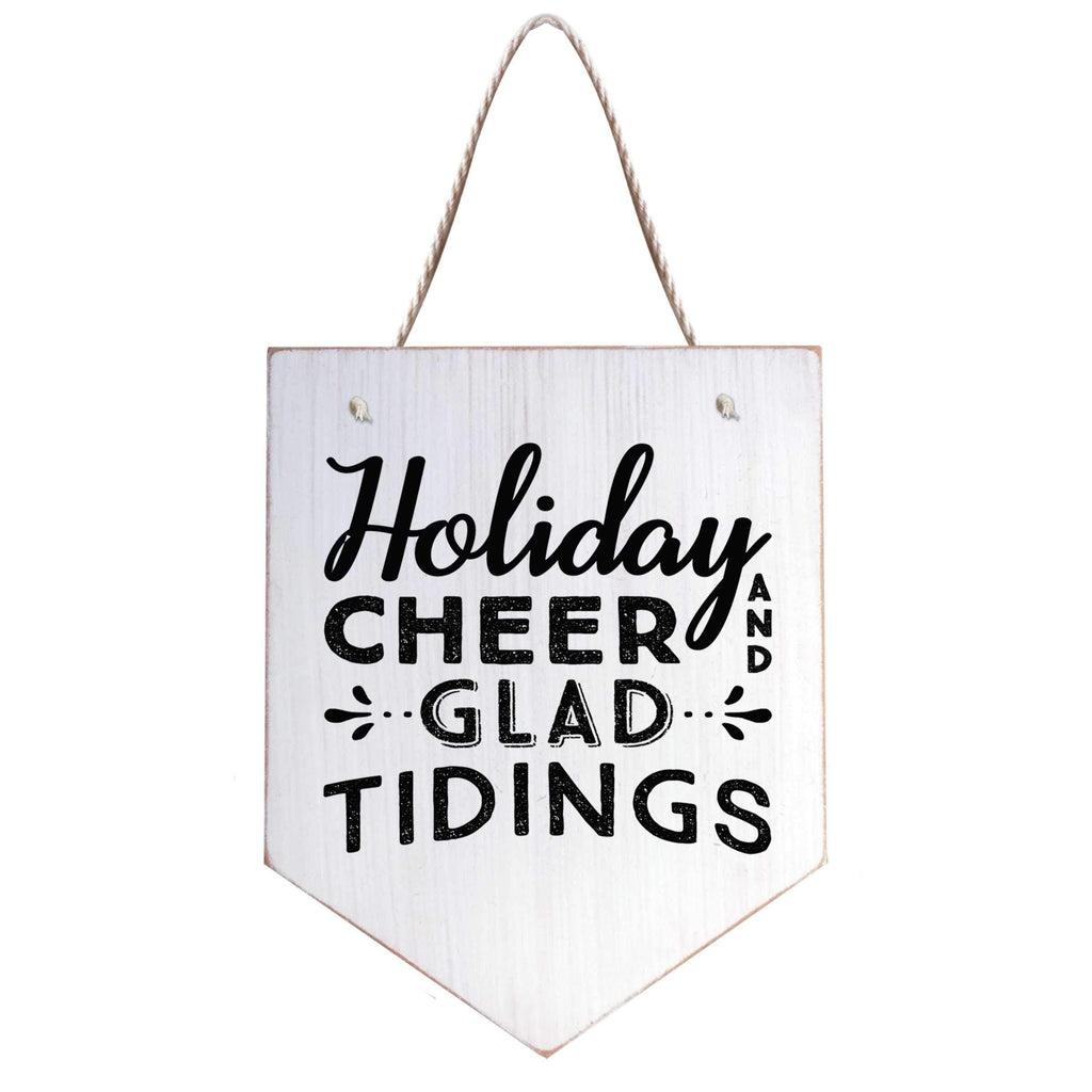 Holiday Cheer Silkscreen Banner