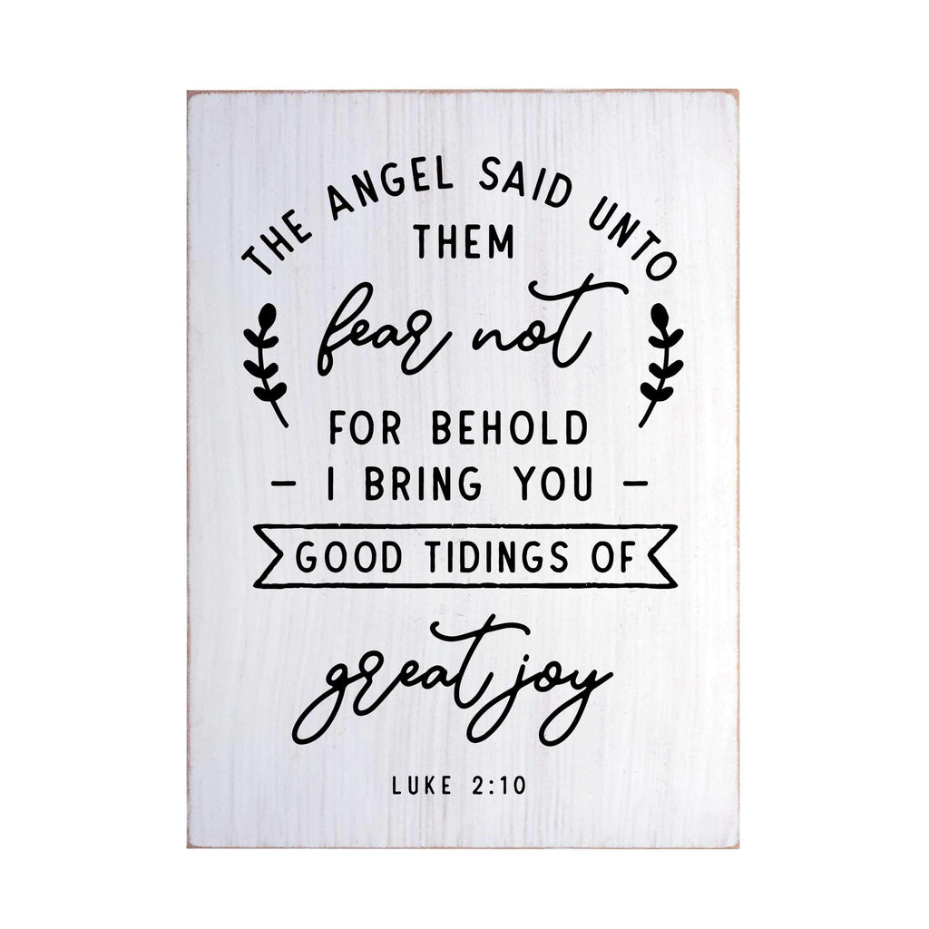 Good Tiding of Great Joy Flat Silkscreen Wall Art