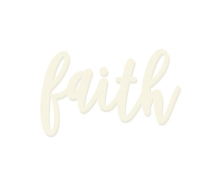 Faith Wooden Word