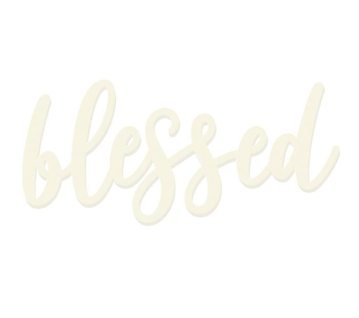 Blessed Wooden Word