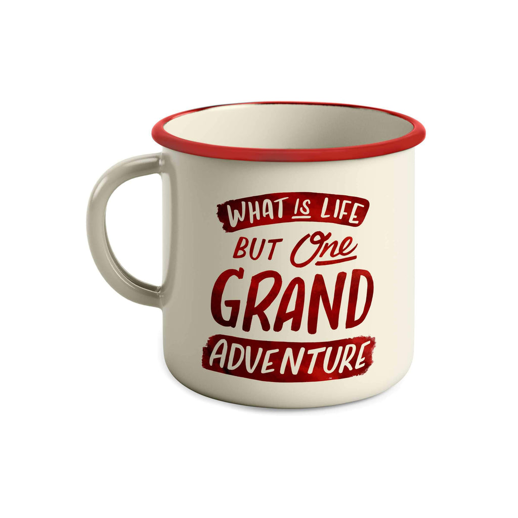 Grand Adventure Camper Mug: What Is Life