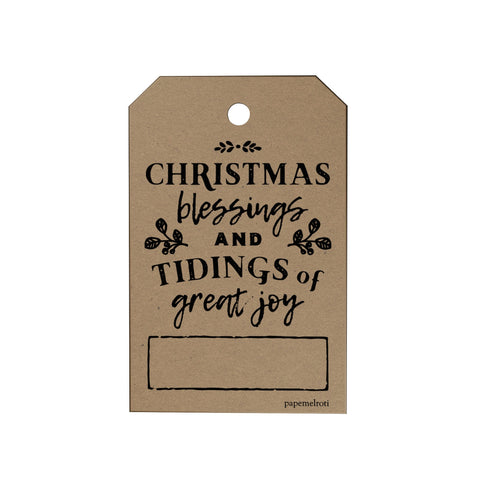 Christmas Blessings Gift Tags