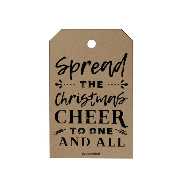 Spread the Christmas Gift Tags