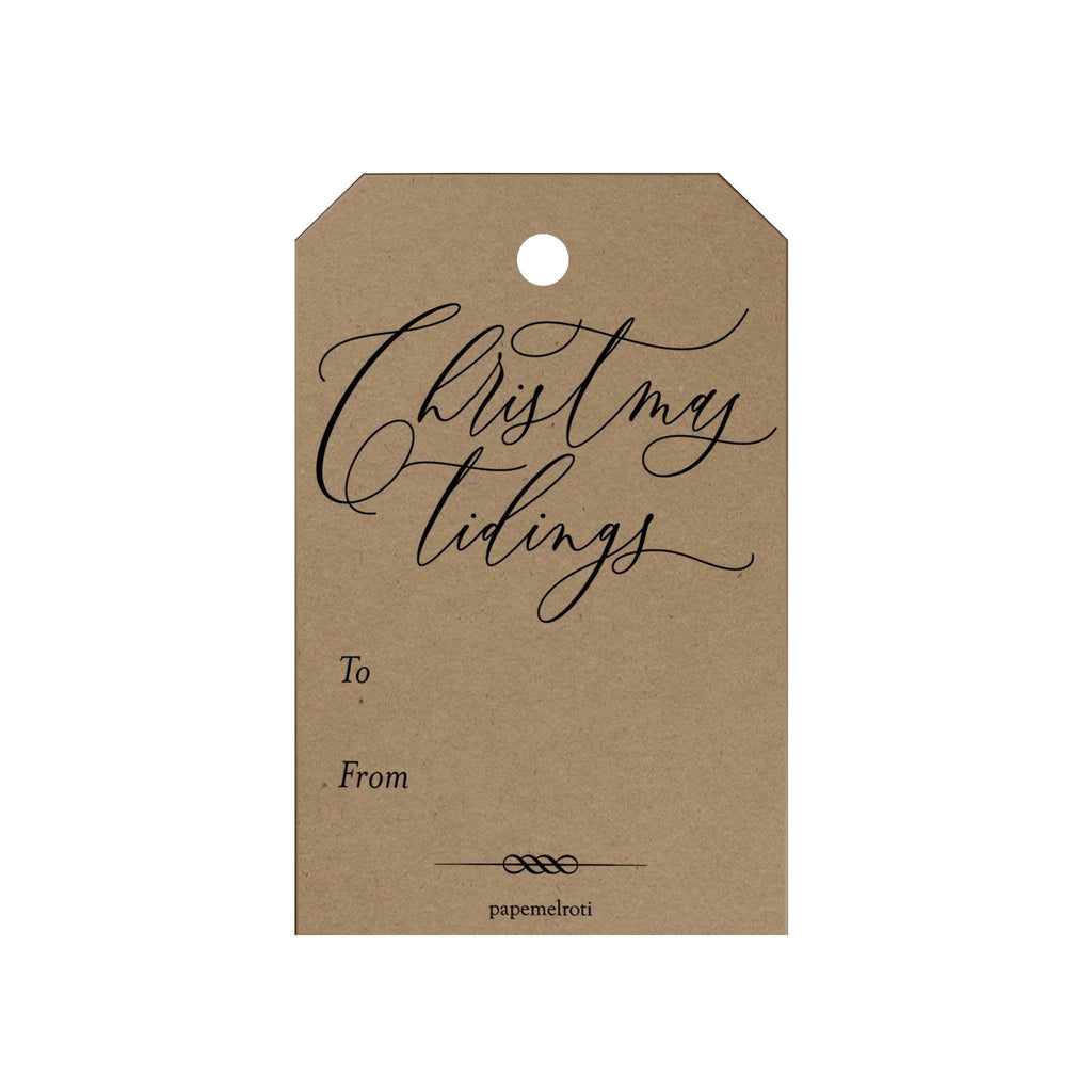Christmas Tidings Gift Tags
