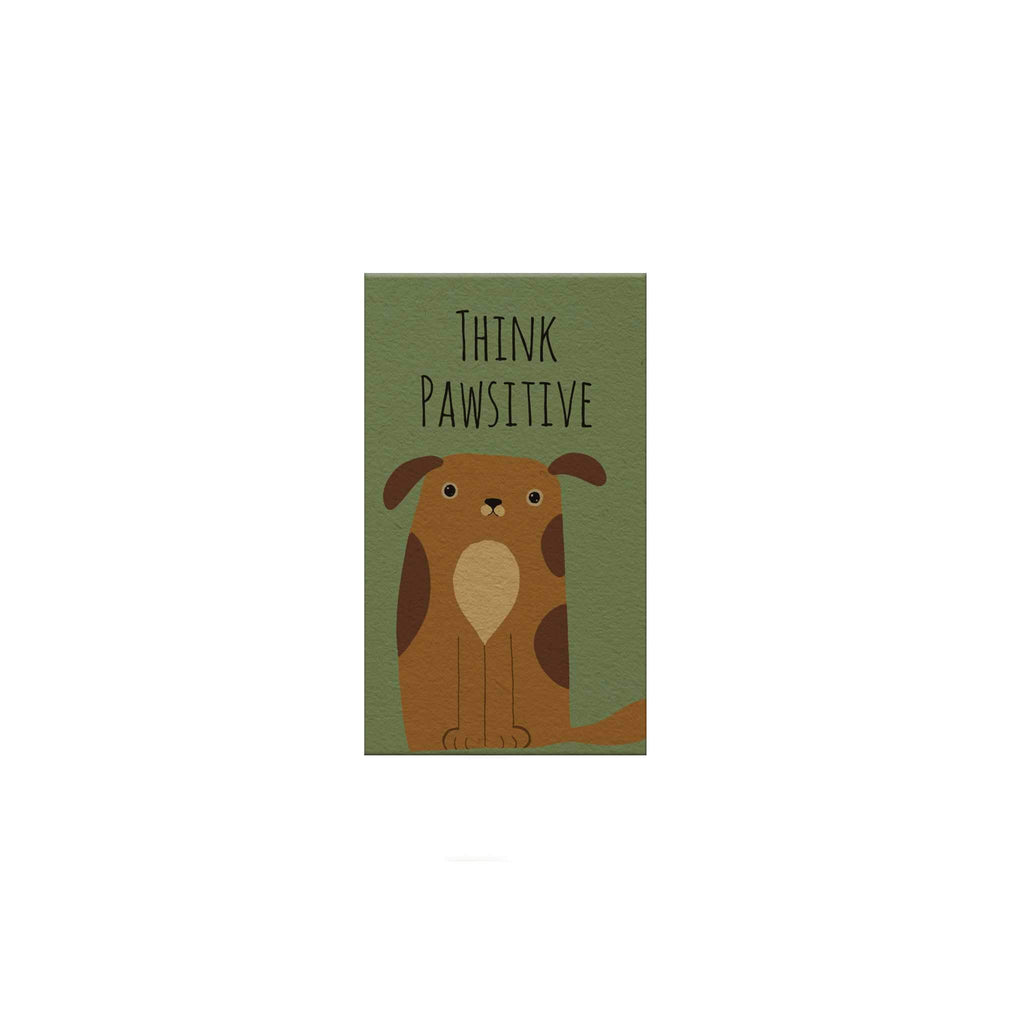 Pawsome: Think Pawsitive Day Magnetic Bookmark