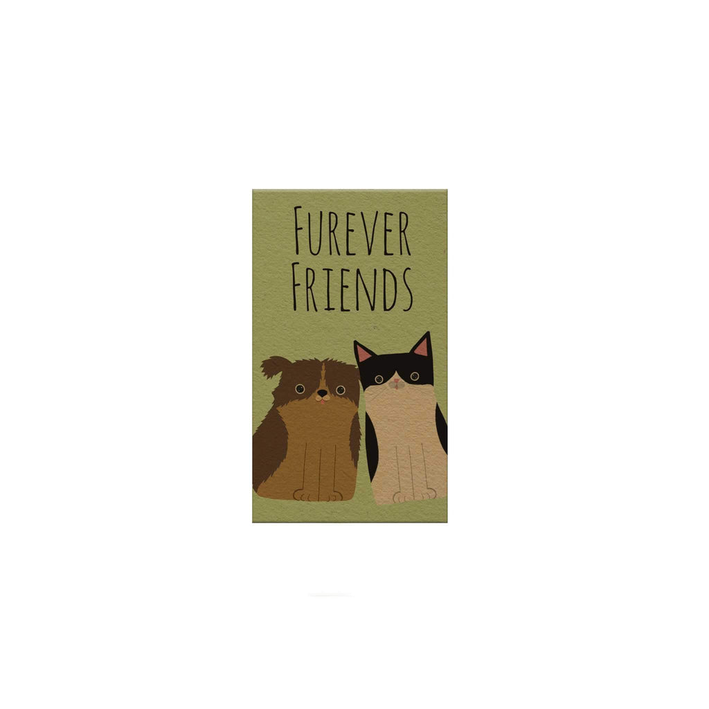 Pawsome: Furever Friends Magnetic Bookmark
