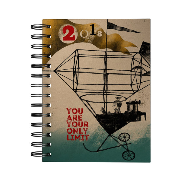 You are Your Only Limit Art Journal