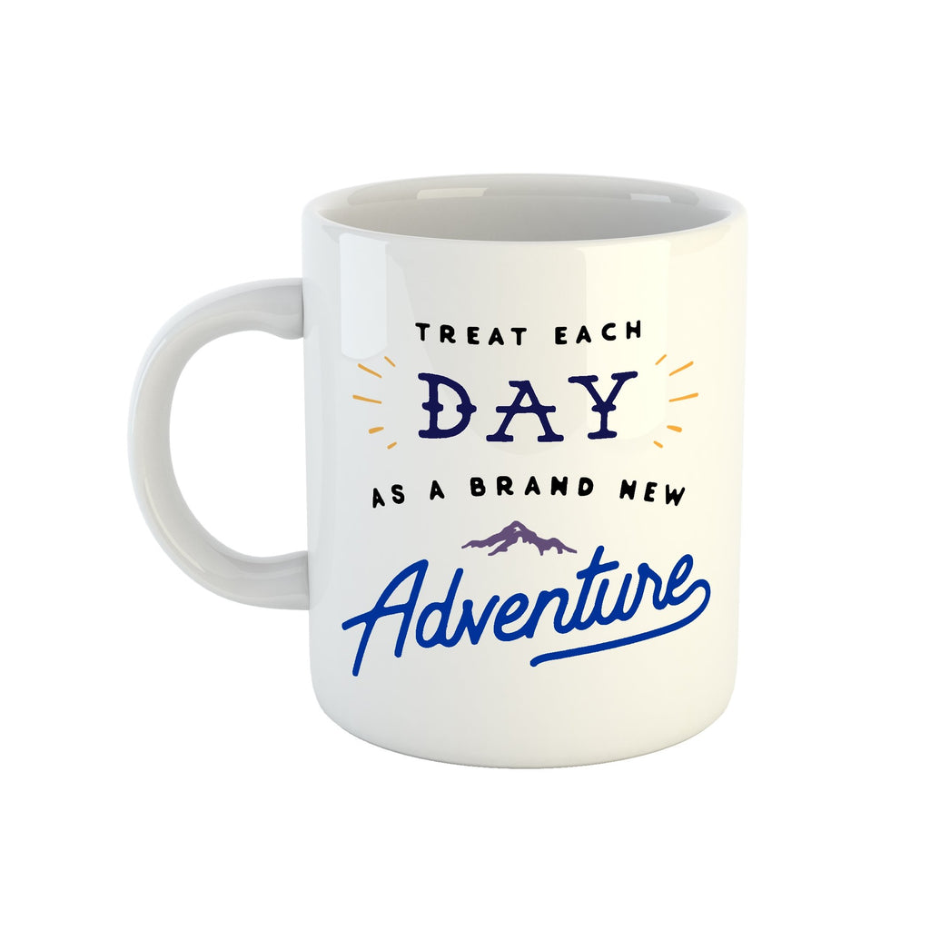 Treat Each Day Mug
