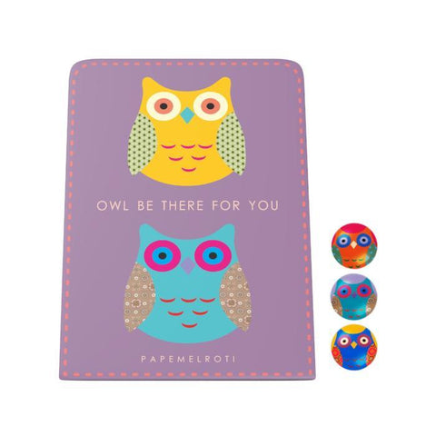 Owl Be There for You Desk Magnet Board