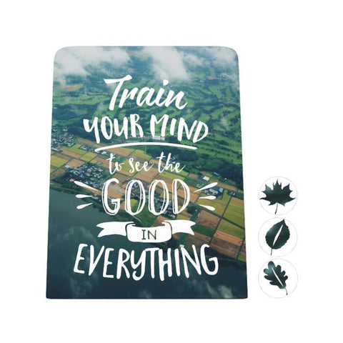 Train Your Mind Desk Magnet Board