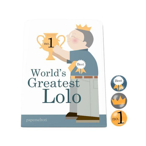 World's Greatest Lolo Desk Magnet Board
