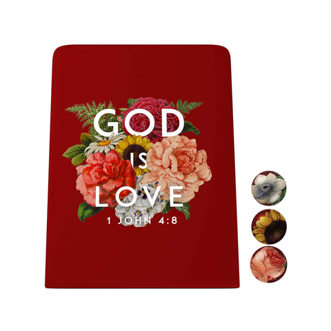 God's Garden: God Is Love Desk Magnet Board