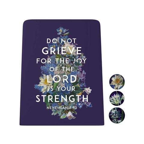 God's Garden: Do Not Grieve Desk Magnet Board