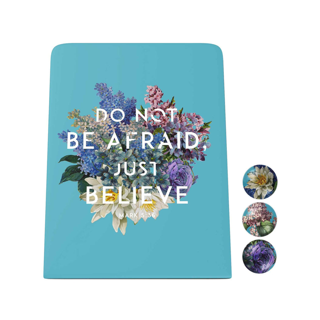 God's Garden: Do Not Be Afraid Desk Magnet Board