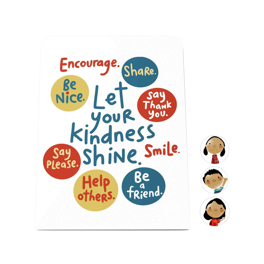 Let Your Kindness Shine Desk Magnet Board