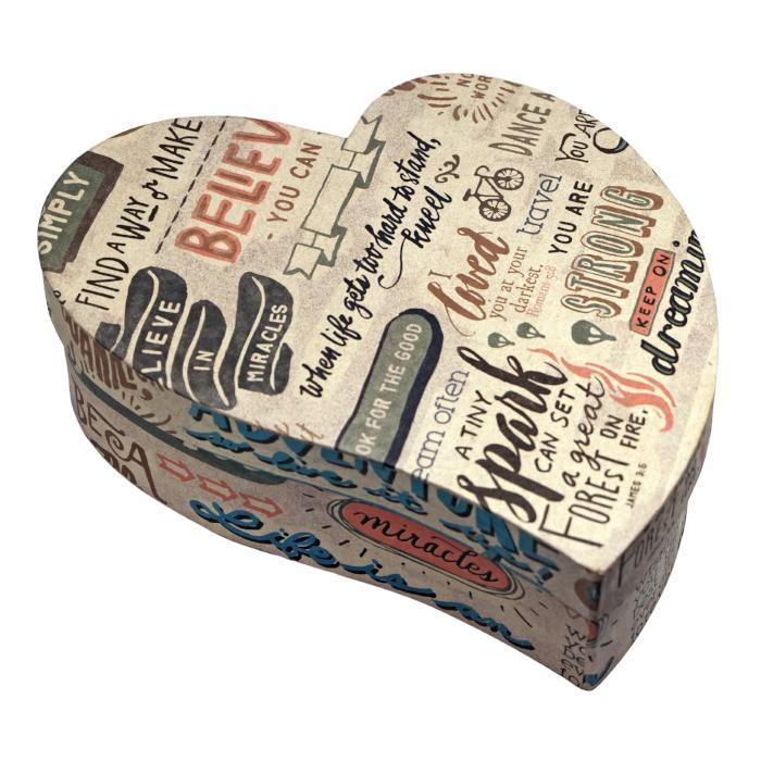 Words Tipsy Heart Gift Box