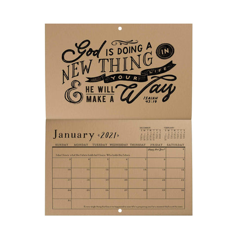 The Best Is Yet to Come Wall Calendar (2021)